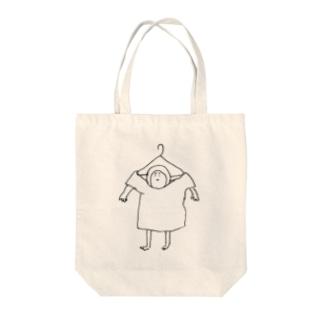 煮玉子ハンガー Tote bags