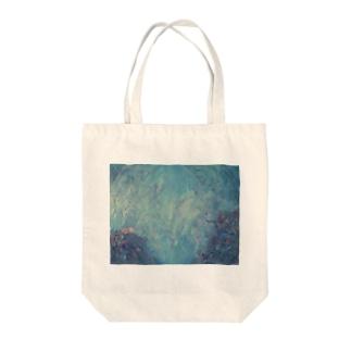 海辺の生息地 Tote bags