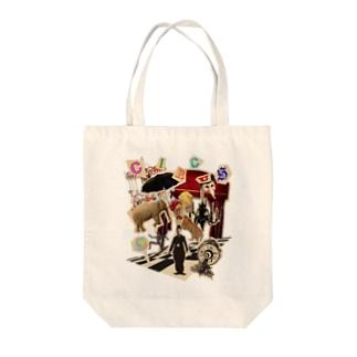 CIRCUS Tote bags
