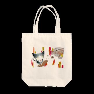 高瀬彩の茂田くんちの坂田さん Tote bags