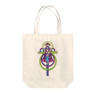 ULIの二季草 Tote bags