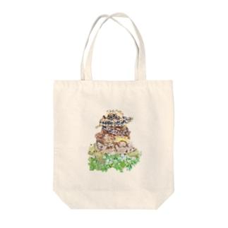パンケーキ風パンケーキリクガメ Tote bags