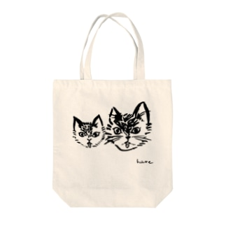ねこの親子BL/チャリティ トートバッグ Tote bags