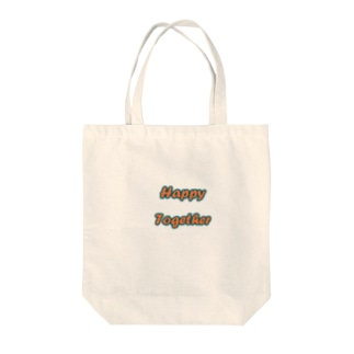 Happy Together Tote bags
