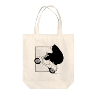 熊さん Tote bags