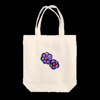 =/   /+、のむらさきのお花 Tote bags