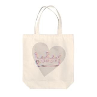 王冠👑ドッキドキver Tote bags
