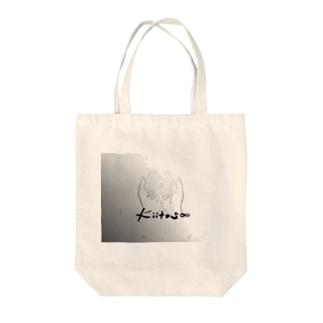 手のひらに花*花 Tote bags