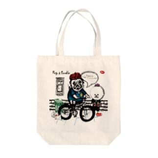 ポリス Tote bags