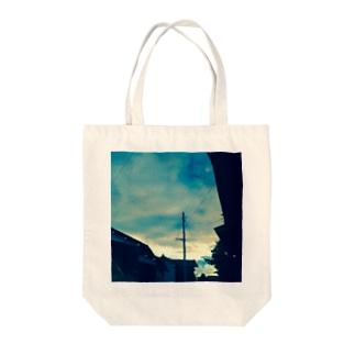 田舎の碧 Tote bags