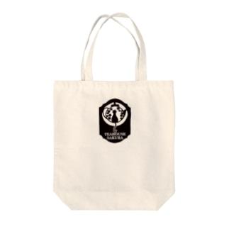TeaHouse SAKURA ロゴ Tote bags