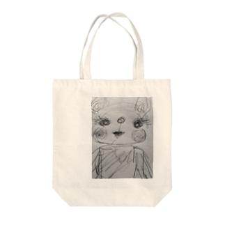 ぱろま Tote bags