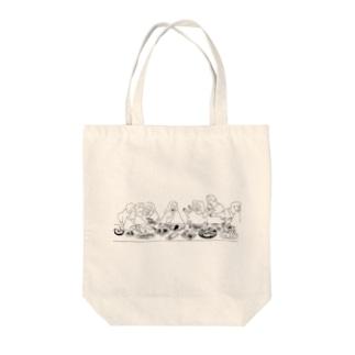 最後の晩餐(ごちそうパーティ) Tote bags