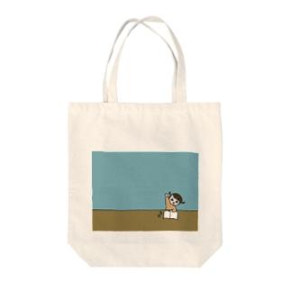 はーい Tote bags