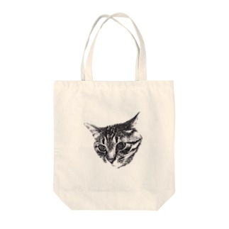 MOCHA THE CAT  Tote bags