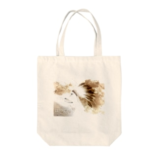 LION HEART Tote bags
