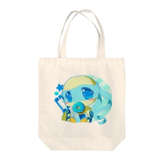レオちゃん(青ドーナツ) Tote bags