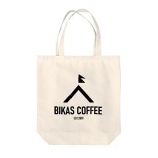 BIKAS COFFEEロゴ入りトートバック Tote bags