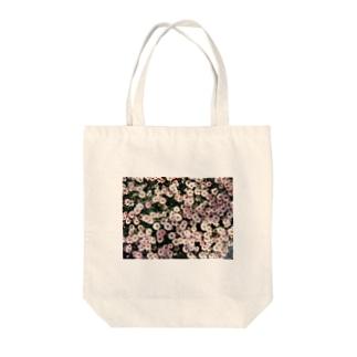 春色のマーガレット Tote bags