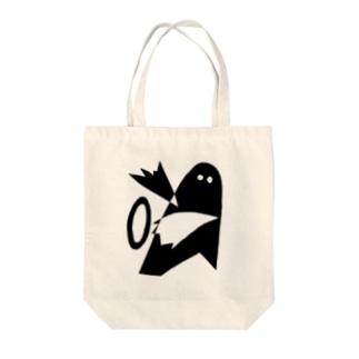 ハッピーエイリアン Tote bags