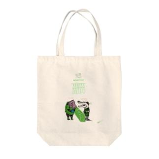 クロコ Tote bags