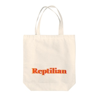 Reptilian ヒト型爬虫類 グッズ Tote bags