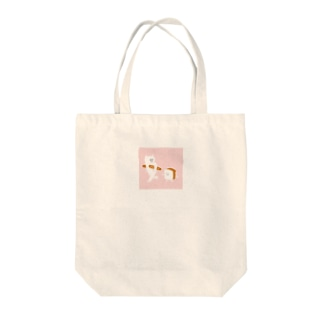 食パンとねこ ピンクver Tote bags