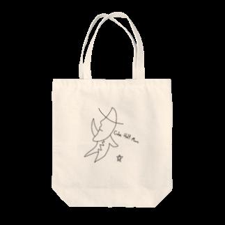 TT_ARTSHOPのCube Half Moon Tote bags