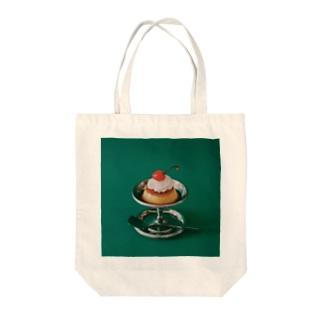 Kensuke Hosoyaのプリン Tote bags