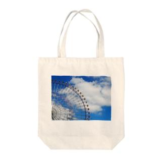 空の近くまで Tote bags