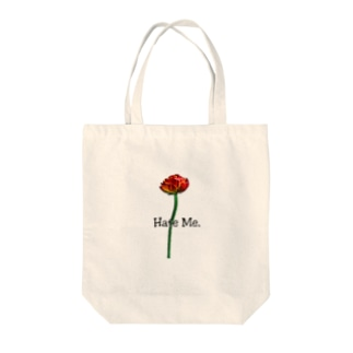 「Hate Me FLOWER」 Tote bags