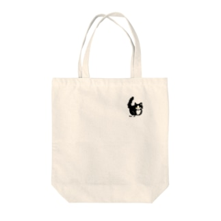 はちわれ猫のおすまし Tote bags