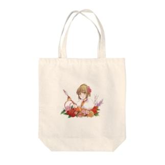 着物美人 『冬』 Tote bags