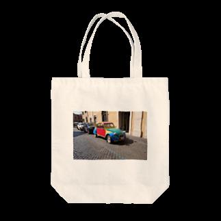 ARLECCHINIのシトロエン2CV Tote bags