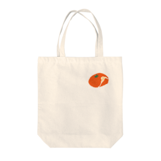 筆文字ショップのみかん Tote bags