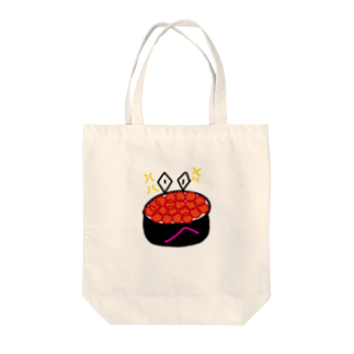 paprikachanのイライラいくらさん Tote bags
