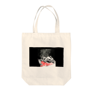 Danke Shoot Coffeeのメザシ焦げてる Tote bags