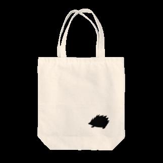 ラルゴのハリネズミ Tote bags