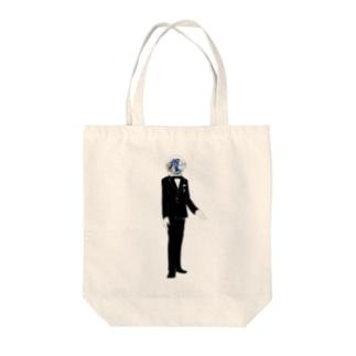 宇宙飛行コンシェルジュ Tote bags