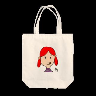 tanakachasoの赤毛のアキちゃん Tote bags
