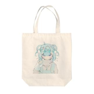 kawaii hamuchan Tote bags