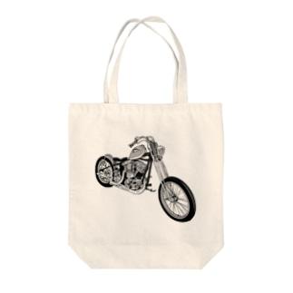 ブルンブルンバイク Tote bags