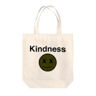 Kindness EMOJI Tote bags