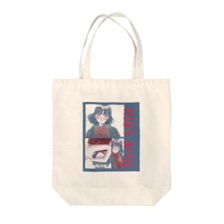 ヘブライ語ガール Tote bags