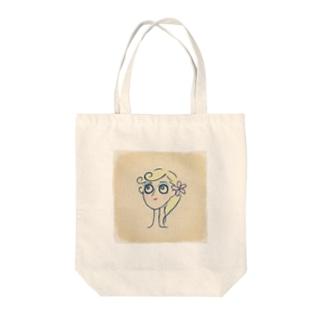 パッチリお目目 Tote bags