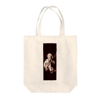 しゃぼん玉ふくセーラー服(暖色調) Tote bags