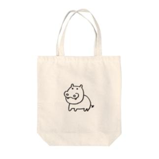 カバお Tote bags