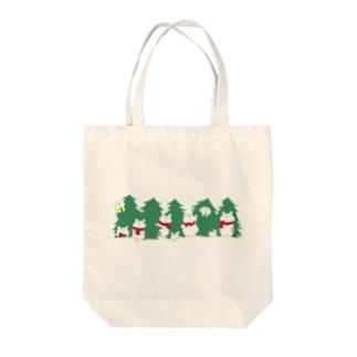 クリスマス限定 もみの木 Tote bags