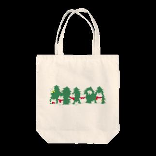 shirokumasaanのクリスマス限定 もみの木 Tote bags