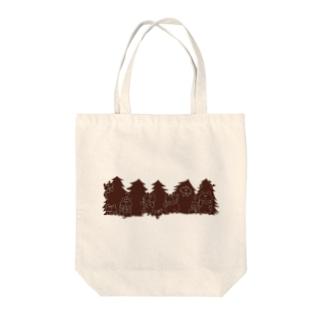 クリスマス限定 もみの木(チョコレート) Tote bags